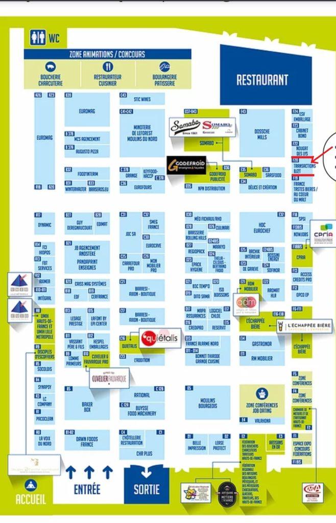 plan-salon-horesta-HDF-2021-658x1024 J - 1 VENEZ NOUS RENCONTRER AU SALON HORESTA HAUTS DE FRANCE DU  12 AU 14 SEPTEMBRE 2021  LILLE GRAND PALAIS
